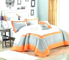 navy blue and orange duvet cover grey yellow bedding black comforter mustard be
