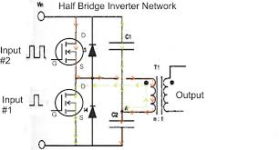 how to design an inverter basic circuit tutorial transformer tapping range calculation at Transformer Taps Diagram