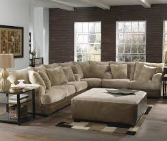 Interesting Living Room Interior using Sectional Sofas Big