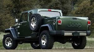 2017 Jeep Wrangler Pickup rear view - 2020 - 2021 New Pickup Truck ...