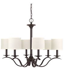 progress p4739 20 inspire 6 light 30 inch antique bronze chandelier ceiling light