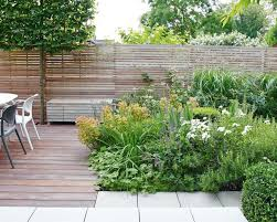 deck planting ideas using beds