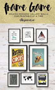 Free Wall Printables Modern Gallery Wall For A True Adventurer O Little Gold Pixel