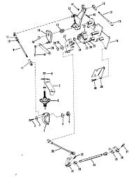 Array mercury mercury 18xd 9378151 thru 9507380 throttle and shift rh vansoutboardparts