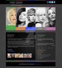Hair Saloon Websites Hair Salon Websites Template Business