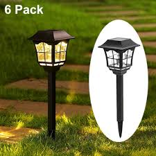Amazon Prime Solar Garden Lights Maggift 6 Lumens Solar Pathway Lights Solar Garden Lights Outdoor Solar Landscape Lights For Lawn Patio Yard Pathway Walkway 6 Pack