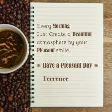 Terrence Good Morning Wish Greeting Card