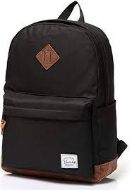 <b>School Backpack</b>,Vaschy Unisex Classic <b>Water-resistant Backpack</b> ...