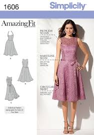Patterns For Dresses Amazing 48 Simplicity Pattern Misses And Miss Petite Amazing Fit Dress