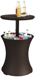 Table Drinks Cooler Review Keter Rattan Cool Bar Youtube