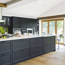 modern open plan kitchen extension with valuted ceiling