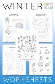 Printable Worksheets For Grade 1 Filipino Free Winter Math Kids ...