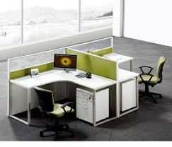 office desk metal. Guangzhou Office Furniture Steel Knock Down Metal 2 People Desk Partition Glass Partitions - Buy