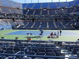 Usta Billie Jean King National Tennis Center Seating Chart Arthur Ashe Stadium View From Courtside 53 Vivid Seats