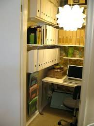 turn closet home office. Closets Turned Into Space Saving Office Nooks Home Closet View In Gallery . Organization Turn A