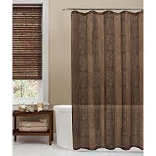 Exellent Tan Shower Curtains Maytex Oneyka Fabric Curtain F To Modern Ideas