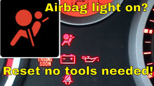 Red Airbag Light Nissan Sentra Infinity Airbag Light Blinking How To