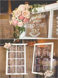 Wedding Seating Chart Ideas Pinterest Rustic Spring Wedding Seating Chart Wedding Wedding