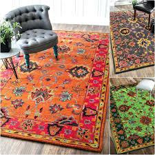 orange wool rug best rugs images on area and acting orange wool rug
