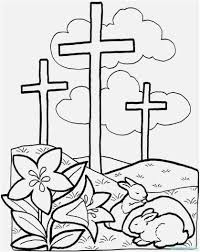 Jesus Easter Coloring Pages Printable With Page For Kids Best Of