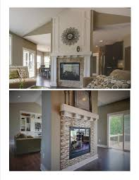 20 Gorgeous Two-Sided Fireplaces For Your Spacious Homes tags: double sided  fireplace design