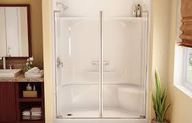 shower stalls one piece shower units shower stall