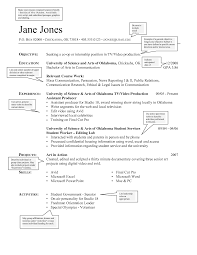 Standard Resume Font Size Resume For Study