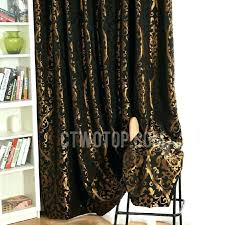 black and gold curtains brown and gold curtains incredible black gold curtains designs with black polyester