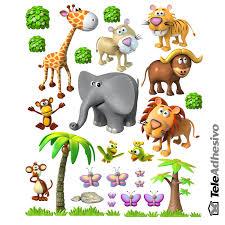 Kit di animali della giungla africana