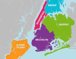 ᐅ Die 5 Stadtteile von New York City ...