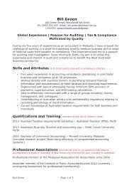 Cover Letter Resume Examples For Accounting Jobs Free Resume Samples