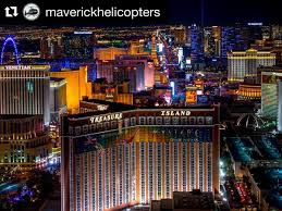 a las vegas strip helicopter ride by instagram user maverickhelicopters
