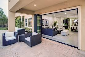 wide span doors expand your view remodeling outdoor rooms innovative folding patio doors panoramic 10 foot tall sliding
