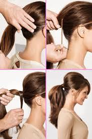 63 Besten Frisuren Bilder Auf Pinterest Haarknoten Haarfarbe