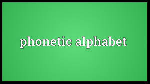 A system of symbols for showing the speech sounds of a…. Phonetic Alphabet Meaning Youtube