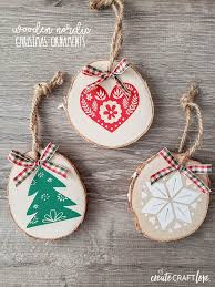 The monogram file is perfect for the glass pie dish etching project that i've been wanting to do! Nordic Christmas Ornaments Free Svg File Included Create Craft Love