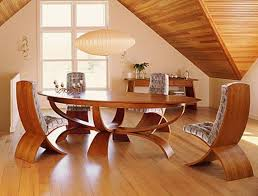 ... Dining Tables, Appealing Brown Oval Unique Wooden Cool Dining Room  Tables Stained Ideas: cool ...