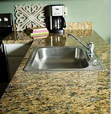 faux granite instantly update venecia gold granite counter