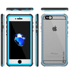 Crystal Light Case Apple Iphone 7 Waterproof Case Punkcase Crystal Light Blue W Attached Screen Protector Warranty