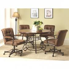 swivel dining chairs with casters. Dining Room Chairs With Casters Cool Swivel For Table I