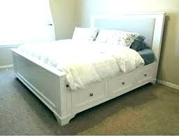 Full Bed With Drawers Full Size Bed With Drawers Underneath Storage ...