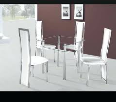 small glass dining table and 4 chairs glass kitchen tables dining rovigo small glass chrome dining small glass dining