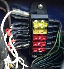 did the austin healey wiring harness need modifying when i new 6 slot fuse block replacing original 2 glass fuse block