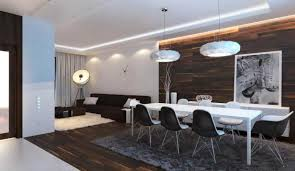 Rectangular Dining Room Lighting Modern Dining Room Lighting With White Lamp Shade Over White