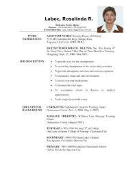 Caregiver Resume Samples Free Sample For 20 8 | Bobmoss