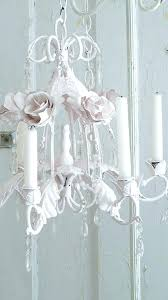 chandeliers white shabby chic chandelier make by tole chandeliers and chalk paint antique