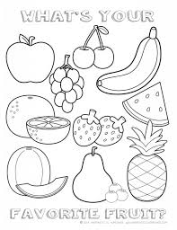 This is a delicious collection of fruit coloring pages. Printable Healthy Eating Chart Coloring Pages Happiness Is Homemade