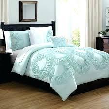 seafoam green comforter