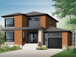 Modern Two Story Ushaped HouseTwo Storey Modern House Designs