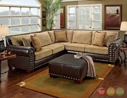 apartment decorating ideas on a budget tan sectional couch corner great incredible nailhead sectional sofa pertaining to household